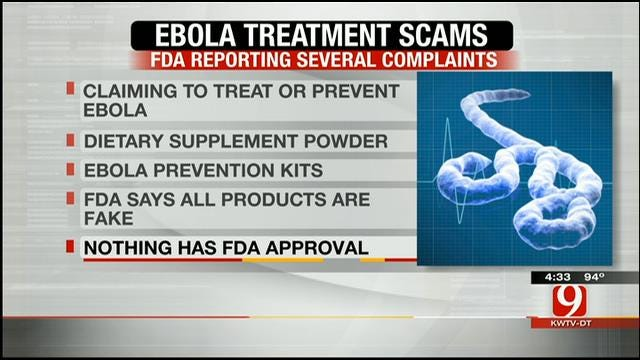 Ebola Symptoms, Treatment Scams