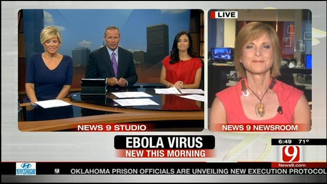 Dr. Bauman Talks About Ebola Virus In The U.S.