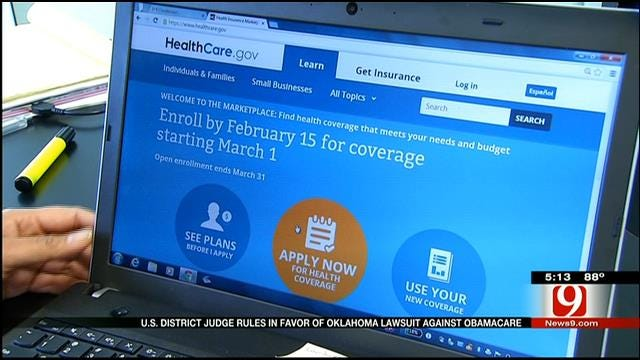 Oklahoma Wins Lawsuit Challenging Affordable Care Act