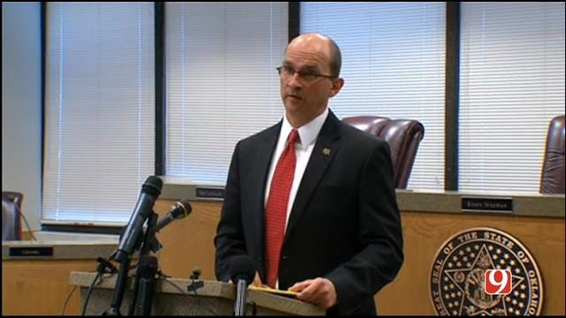 WEB EXTRA: Cleveland County DA Press Conference On Vaughan Food Attack