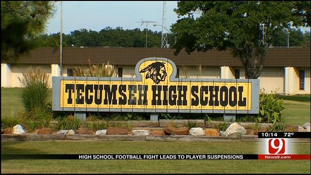 Oklahoma HS Football Field Brawl Suspends 40 Players