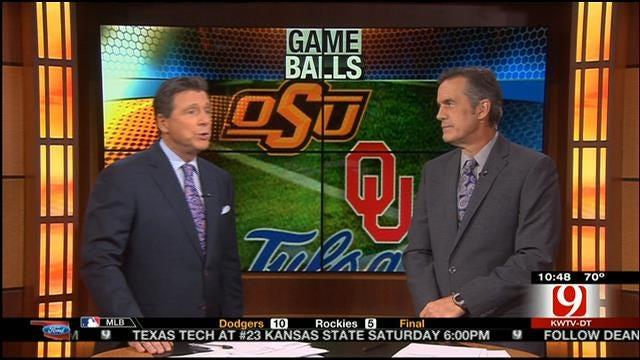 OSU, Tulsa Game Balls