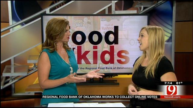 Regional Food Bank Of Oklahoma Works To Collect Online Votes