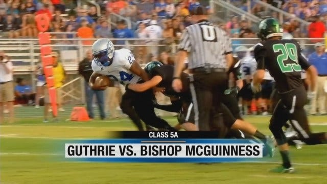 News 9 Game of the Week: Bishop McGuinness vs. Guthrie