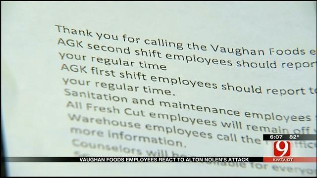 Vaughan Foods Employees Describe Suspect In Deadly Moore Attack