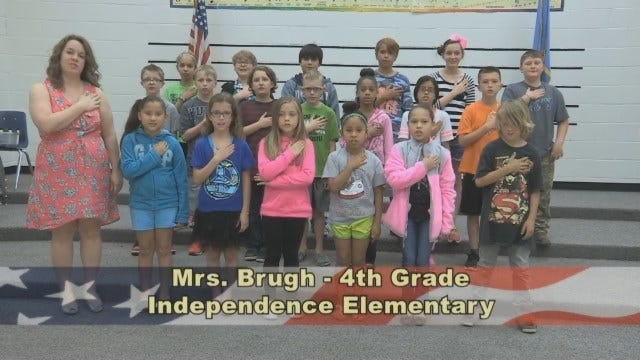 Mrs. Brugh's 4th Grade Class At Independence Elementary School