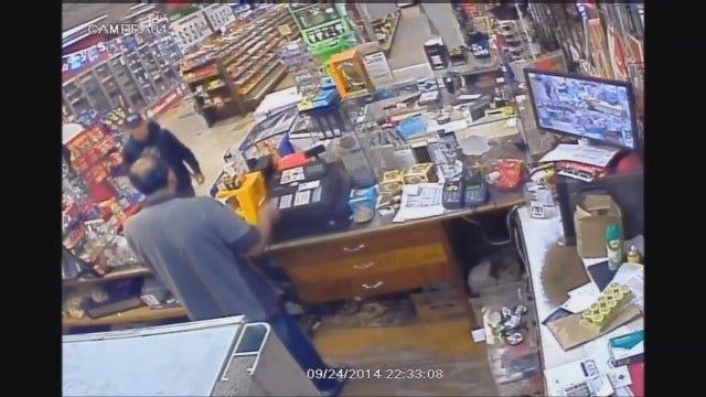 Police Seek Food Mart Robbery Suspect In NW OKC