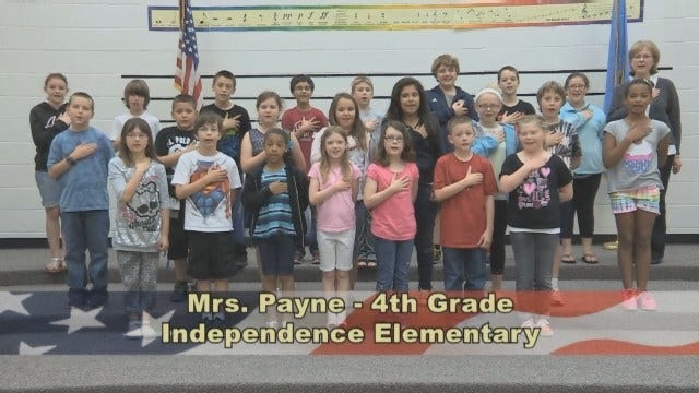 Mrs. Paynes's 4th Grade Class At Independence Elementary School