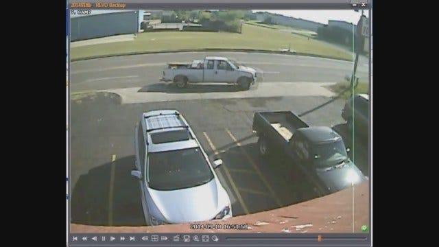 WEB EXTRA: Police Seek Suspect In Auto Burglary In SE OKC