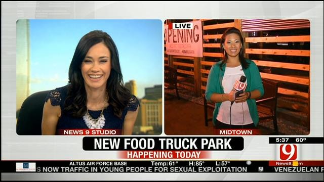 OKC's First Food Truck Park To Open This Thursday