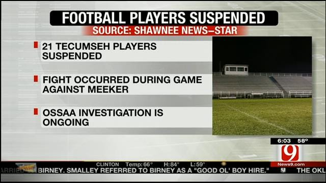 21 Tecumseh High School Football Players Suspended Following Fight