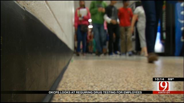 OKC School Officials Consider Drug-Testing Policy