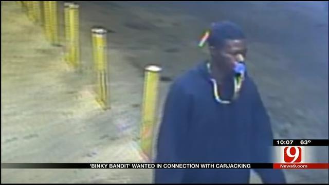 OKC Police Search For Pacifier-Wearing Alleged Carjacker