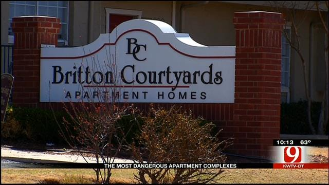 Oklahoma City's Most Dangerous Apartment Complexes