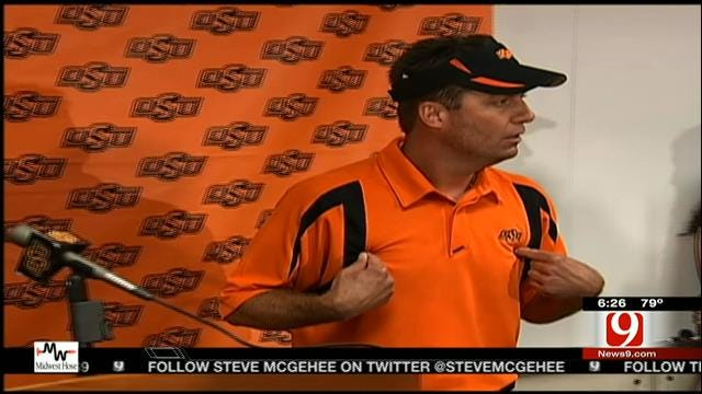 Cowboys' Gundy Reflects On Past Texas Tech Matchups