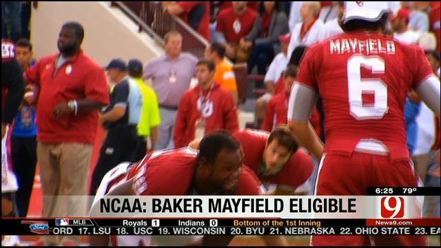 Sooner QB Mayfield Granted Eligibility