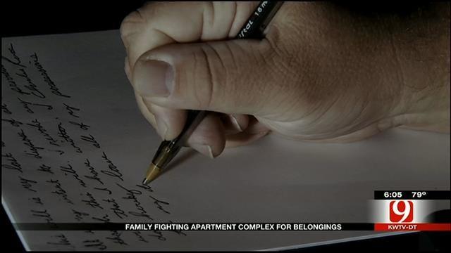 Apartment Responds In Metro Family's Belongings Fight