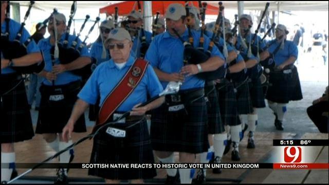 Scottish Native Reacts To Historic Vote In United Kingdom