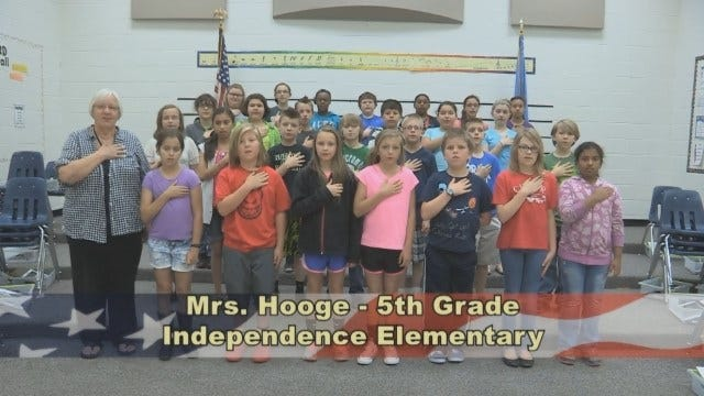 Mrs. Hoodge 5th Grade Class At Independence Elementary School