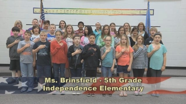 Ms. Brinsfield 5th Grade Class At Independence Elementary School