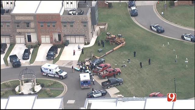 Crews Respond To Industrial Accident In Edmond