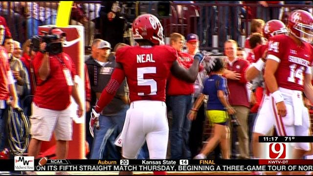 Sooner Spotlight: Wide Receiver Durron Neal