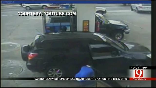 Nationwide Car Burglary Scheme Hits OKC