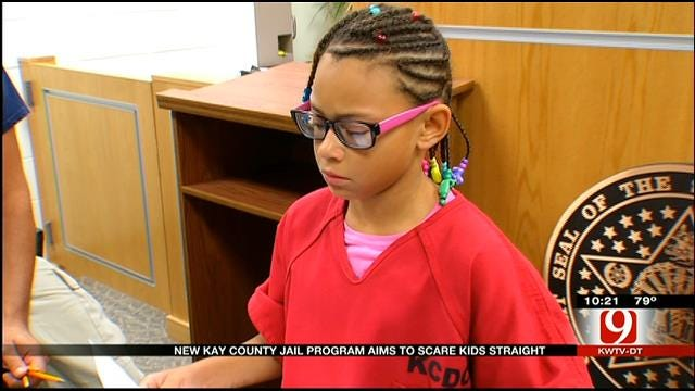 Kay County Kids Participate In 'Beyond Scared Straight' Program