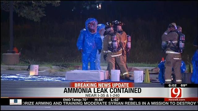 Crews Cap Ammonia Leak At Blazers Ice Centre In OKC