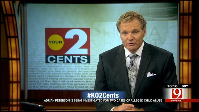 Your 2 Cents: Adrian Peterson Child Injury Allegations