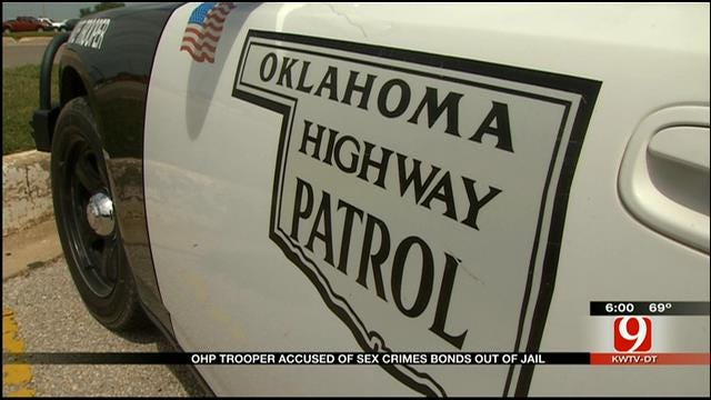 OHP Trooper Accused Of Sex Crimes Bonds Out Of Jail