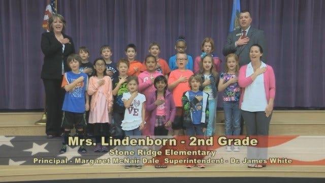 Mrs. Lindenborn 2nd Grade Class at Stone Ridge Elementary School