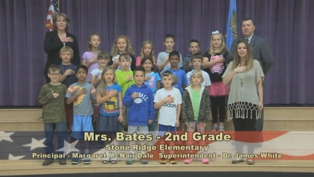 Mrs. Bates 2nd Grade Class Stone Ridge Elementary School