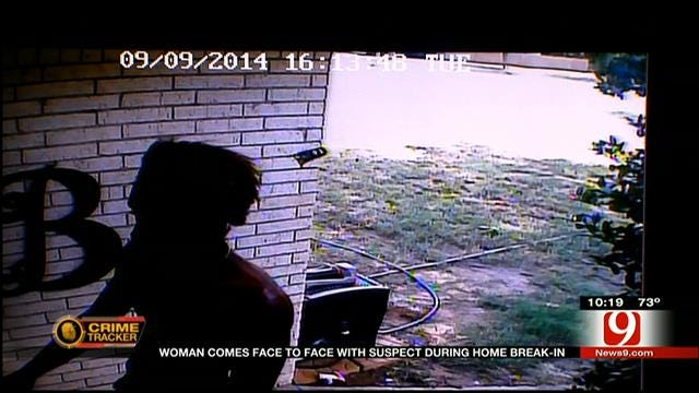 OKC Woman Comes Face-To-Face With Suspect During Home Break-In