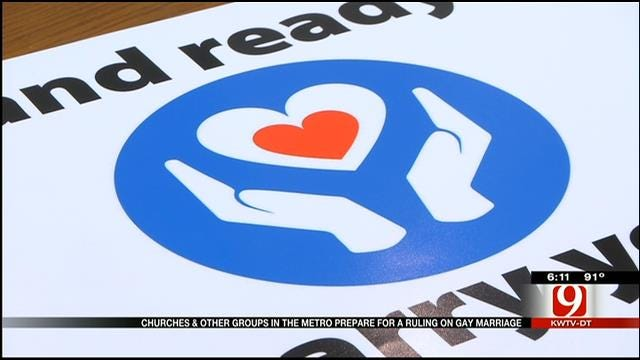 Oklahoma Church Prepares For Ruling On Same-Sex Marriage