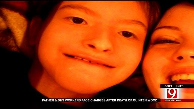 Father, DHS Employees Facing Charges In Quinten Wood Death