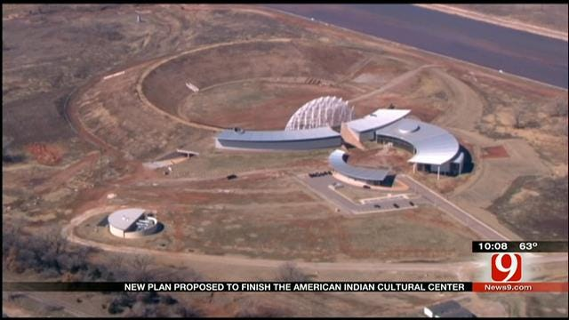 New Plan Proposed To Finish American Indian Cultural Center