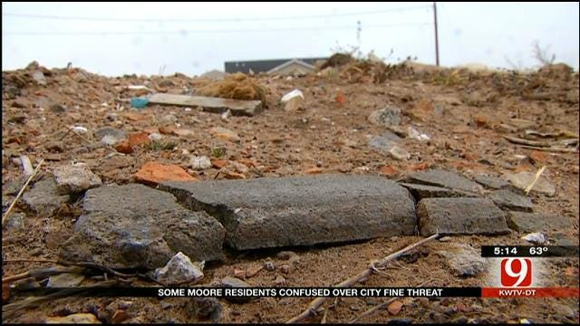 Tornado Victims Could Face Fines In Moore