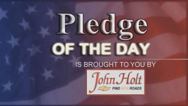 John Holt Chevrolet Daily Pledge