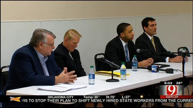 OKC Mayor Cornett Absent From Mayoral Debate