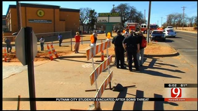 'All Clear' Given At Putnam City School Following Bomb Threat