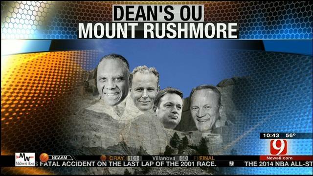 OU And OSU Athletic Mount Rushmore