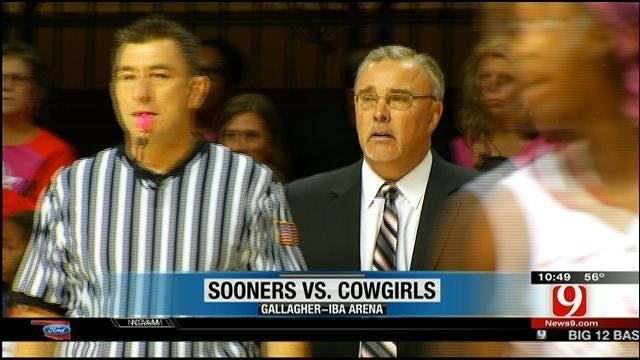No. 12 Cowgirls Take Down Sooners