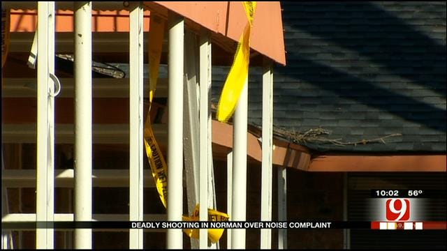 Residents Respond To Deadly Shooting At Norman Apartment