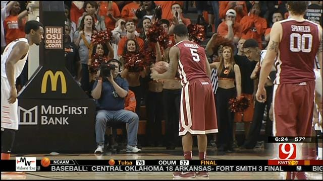 Sooners Take Down OSU In Bedlam
