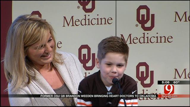 Former OSU Quarterback Brings Heart Doctors To OK