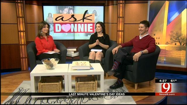 Ask Donnie: Last Minute Valentine Ideas