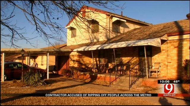 """""""Christian"""" Contractor Accused Of Ripping Off OKC Residents"""