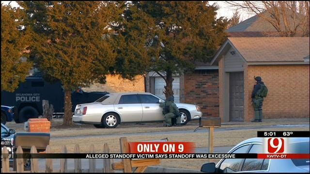 Neighbor Said Standoff With Armed Suspect In NW OKC Unnecessary