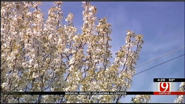 Medical Minute: Oklahoma Allergies